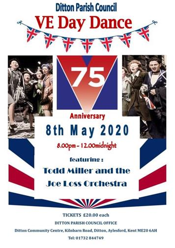 - VE DAY 75TH ANNIVERSARY DANCE