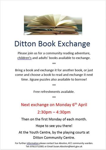 - DITTON BOOK EXCHANGE