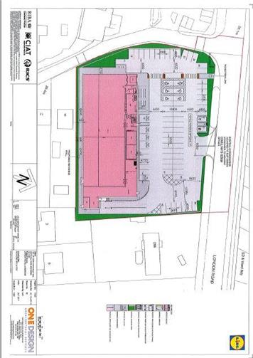 - PLANNING APPLICATION FROM LIDL AT FORMER KIA SITE ON LONDON ROAD